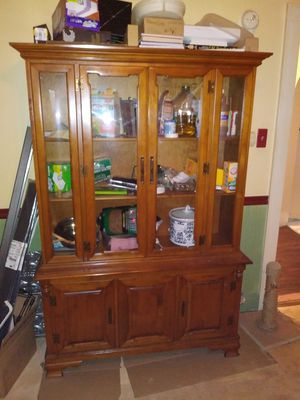 China Cabinet Solid Wood for Sale in Columbus, OH