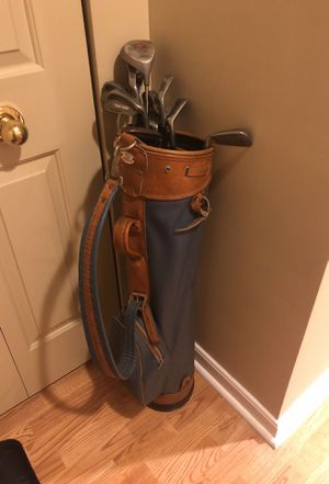 Set of Golf Clubs and Carry Bag for Sale in Cambridge, MA