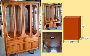 China / Curio Cabinet for Sale in Eagle Mountain, UT