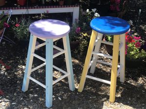 2 Colorful Bar Stools for Sale in Phelan, CA