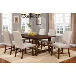 Cherry Wood Dining Table Transitional Solid Wood for Sale in Arcadia,  CA