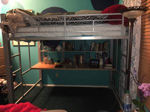 Lof bed W/ Included Desk for Sale in Tucson, AZ