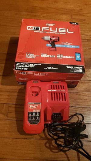 Milwaukee m18- 1/2 high torque impact wrench w/friction ring w/ONE KEY for Sale in Addison, IL