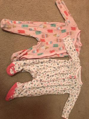 6 month baby girl clothes for Sale in Houston, TX