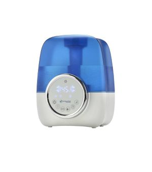 PureGuardian H1250 Ultrasonic Cool Mist Humidifier with Digital Smart Mist Sensor - White/Blue for Sale in Livonia, MI