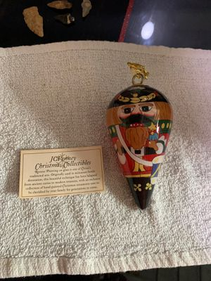 Christmas collectibles nutcracker ornament for Sale in Lakeland, FL