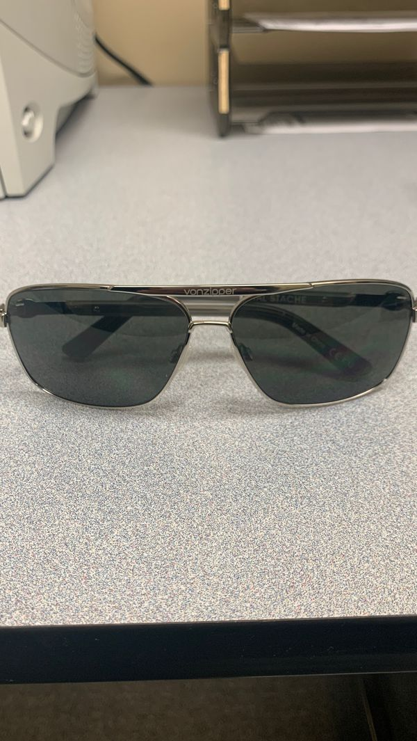 NEW Vonzipper metal stache sunglasses