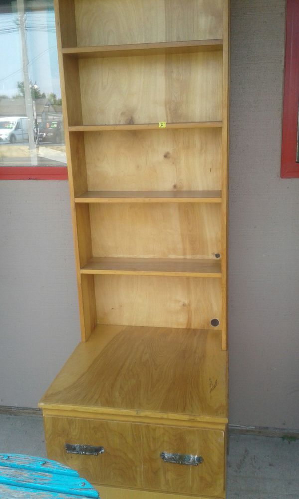 Too tall bookshelf nightstand
