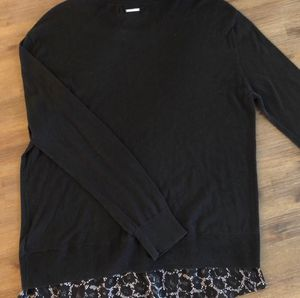 Like New • Michael Kors Round Neck with Silk Insert for Sale in Covina, CA