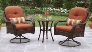 New!! 3 pc patio bistro conversation set for Sale in Tempe, AZ