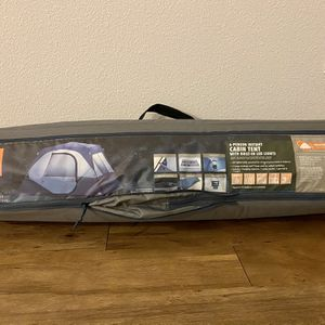 6 Person Instant Cabin Tent With Built In LED lights for Sale in San Jose, CA