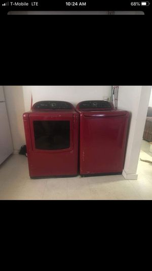 Whirlpool washer and dryer on good condition for sale for Sale in Brockton, MA