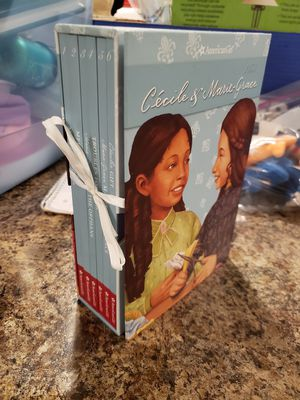 American girl doll book and game set for Sale in Dardenne Prairie, MO