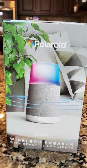 Polaroid wireless speaker with reactive LED lights for Sale in Simpsonville, SC