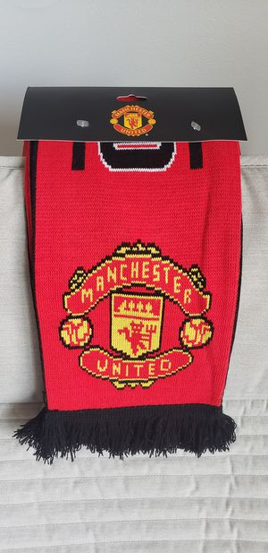 Manchester United Original Lisenced Scarf. for Sale in Boston, MA
