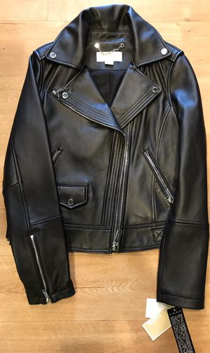 MICHAEL KORS Leather Jacket - Small for Sale in Issaquah, WA