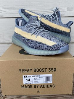 Adidas Yeezy 350 Ash Blue Size 14 for Sale in Gainesville,  FL