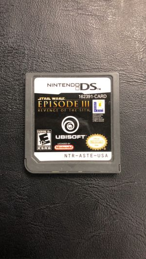 Nintendo DS Star Wars Episode III Revenge Of The Sith for Sale in Upland, CA