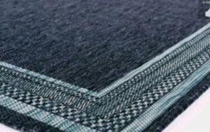 New Blue Aqua Border Flat Woven Weave 5' x 7' Indoor/Outdoor Area Rug for Sale in Pasadena, CA