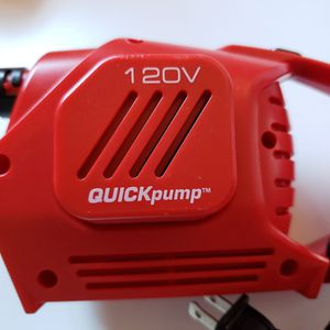 Coleman 120 volt quickpump BRAND NEW for Sale in Fontana, CA