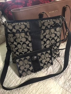 Coach Bag and Wallet for Sale in Everman, TX