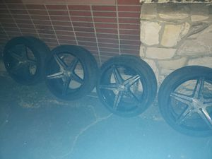 Camaro rims tires I can go cheaper for Sale in Los Angeles, CA