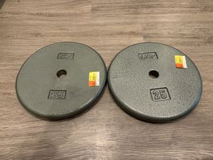 Brand New CAP 25lb Weight Plates for Sale in Englewood, CO