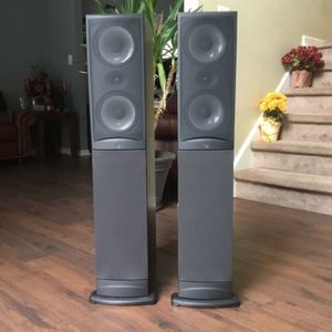 Great Stereo System with Onkyo Receiver + 2 Infinity Speakers + Monster Theater Powercenter for Sale in Austin, TX