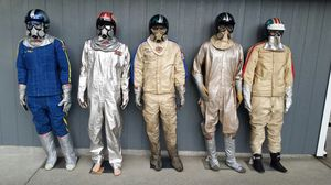 WANTED VINTAGE DRAG RACING FIRE SUITS for Sale in Tacoma, WA