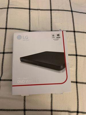 LG ultra slim portable DVD writer for Sale in Rockville, MD