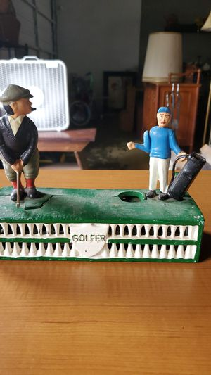 Golf Antique piggy bank!! for Sale in Columbus, OH