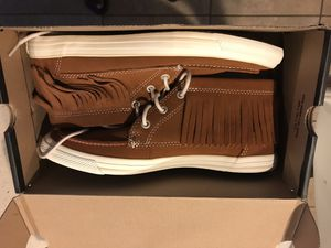 All Star Moccasin Mid Glazed Ginger And Converse Shoes for Sale in Bartow, FL