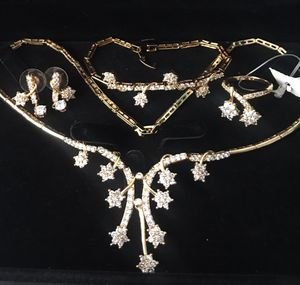 Set of made to order goldfilled and Russian diamond for Sale in Las Vegas, NV
