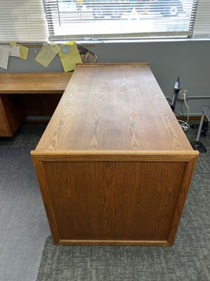 Solid wood desk for Sale in San Diego, CA