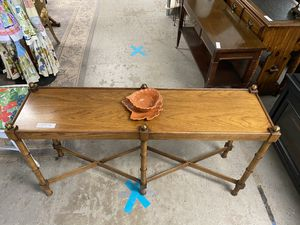Mid Century sofa table $150 for Sale in Wolcott, CT