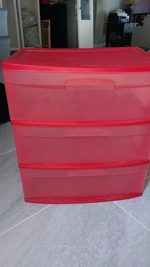 Sterilite storage container for Sale in Queen Creek, AZ