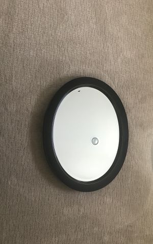 Pair of Black Oval Wood Mirrors for Sale in Dallas, TX