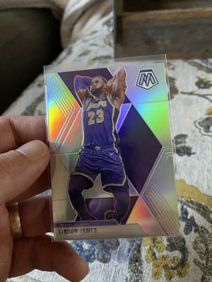 Lebron James Mosaic Base Silver Holo for Sale in Fresno, CA
