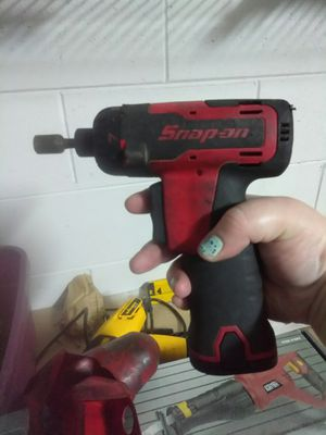 """Snap-On Tools 7.2 V 1/4"""" Cordless Screwdriver CTS561CL W/ Battery for Sale in Lake Helen, FL"""