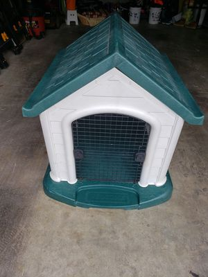 Large heavy plastic dog house/kennel for Sale in Ruston, WA