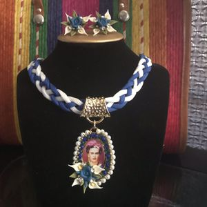 beautiful necklace by frida kahlo (mexican crafts) for Sale in East Los Angeles, CA