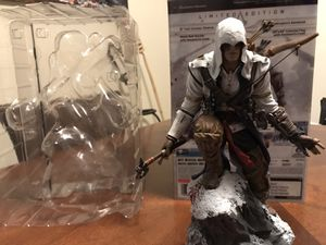 Assassin Creed 3 Limited Edition with statue PS3 for Sale in Coral Springs, FL