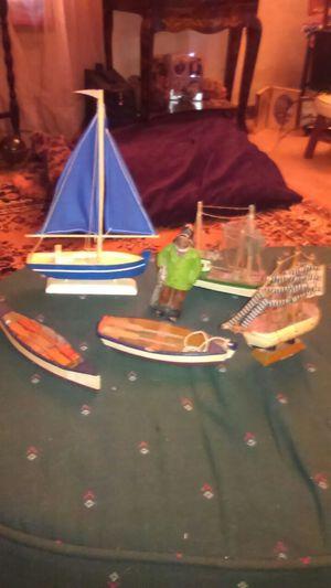 Small boats, village set for Sale in Flint, MI