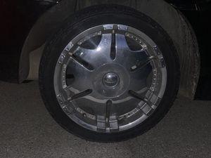 "18"" universal 5 lug chrome rims for Sale in Nashville, TN"