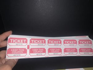Raffle Tickets pack for Sale in Chicago, IL