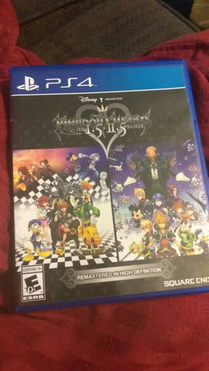 Kingdom hearts 1.5 + 2.5 remix like new for Sale in Columbus, OH