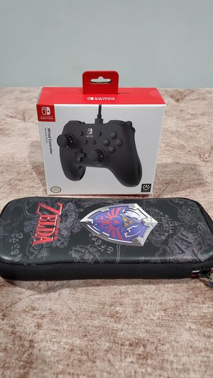 Nintendo Switch Controller and zelda Carrying Case for Sale in UNIVERSITY PA, MD