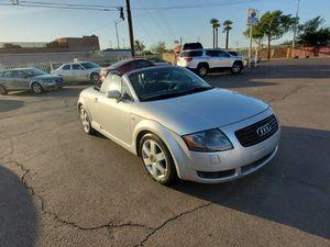 2002 Audi TT MANUAL TRANSMISSION LOW MILES for Sale in Phoenix, AZ