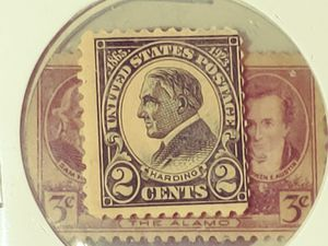Harding 2 cent stamp 1865 to 1923 rare stamp for Sale in Houston, TX