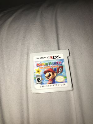 MARIO PARTY ISLAND TOUR 3DS for Sale in Miami, FL